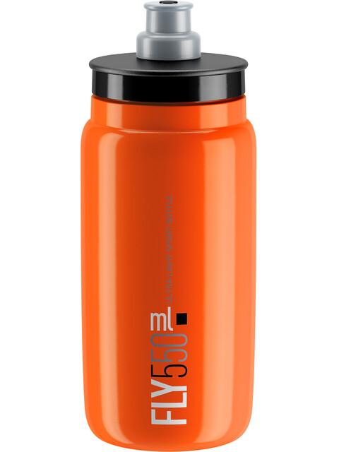 Elite Fly Trinkflasche 550ml orange/schwarzes Logo